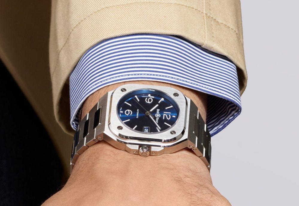 bell and ross blue steel