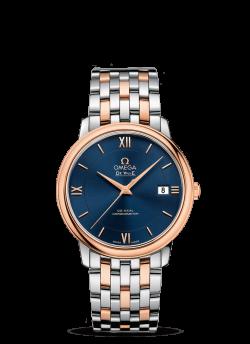 omega deville prestige bleu 42420372003002